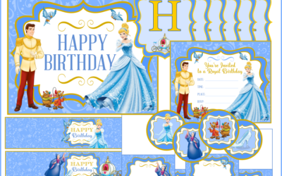 Cinderella Party Printables