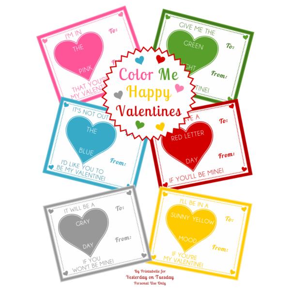 Free Crayon Valentines