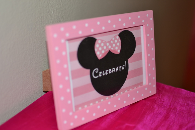 Coco's Minnie Mouse Birthday