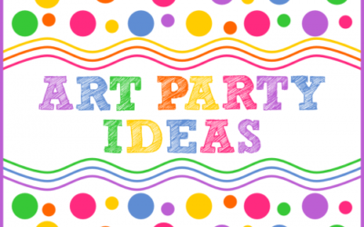 Colorful Art Party Ideas