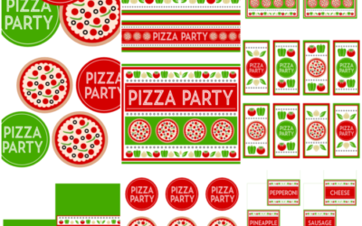 Pizza Party Printables and more!