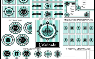 Breakfast at Tiffany's Party Printables