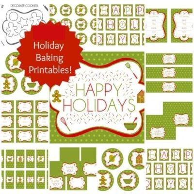 Christmas Baking Printables