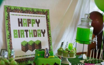 Minecraft Birthday Parties
