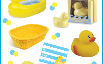 Rubber Ducky Baby Shower Gift