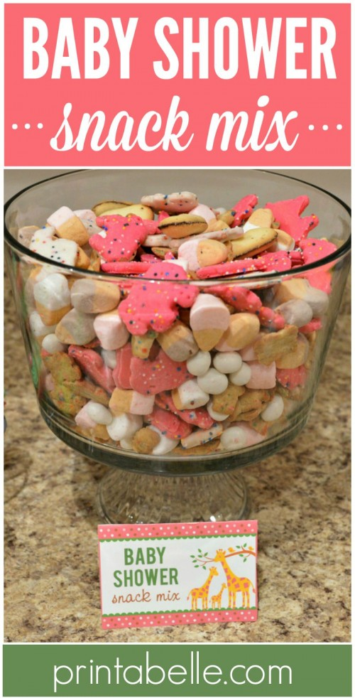 Baby Shower Snack Mix