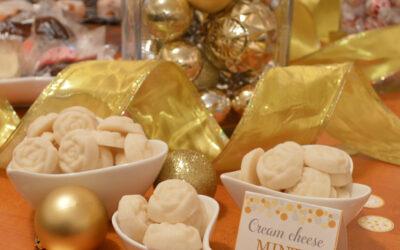 DIY Cream Cheese Vanilla Mints