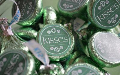 St. Patrick's Day Hershey's Kisses Free Printables