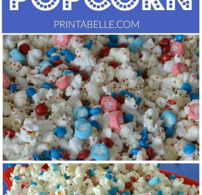 4th of July Popcorn Recipe