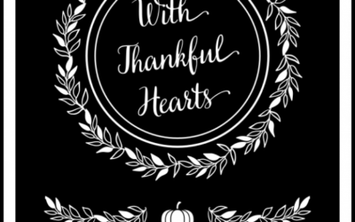 FREE Thanksgiving Sign and Cards