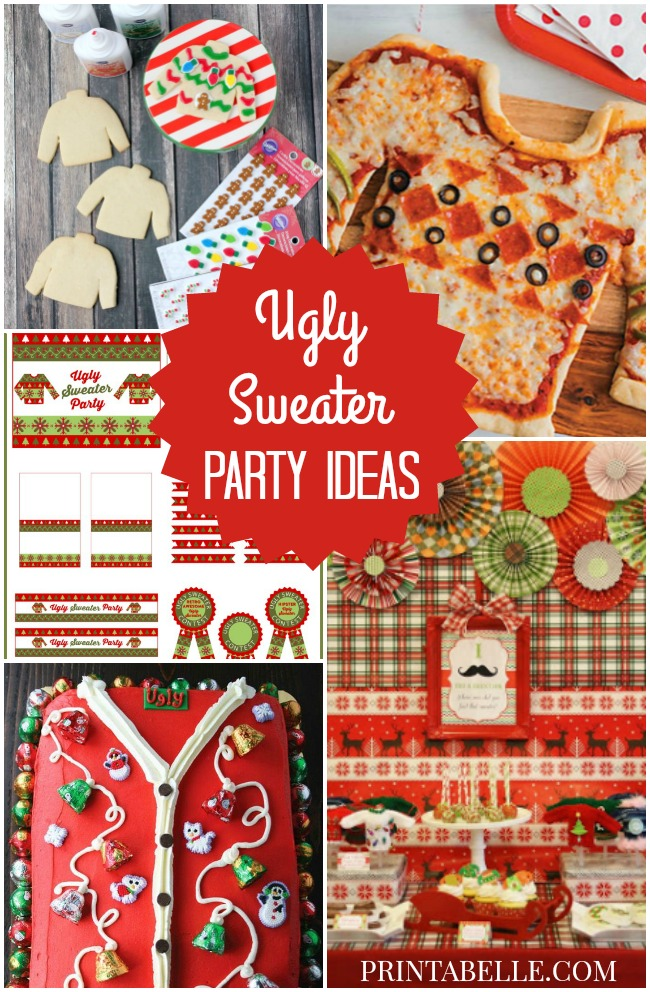 Christmas Ugly Sweater Party Ideas