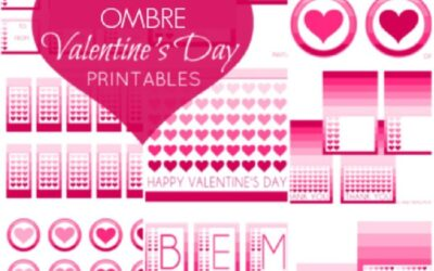 Printable Valentine's Day Deluxe Party Set