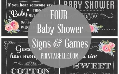Baby Shower Games (Easy and Fun!)