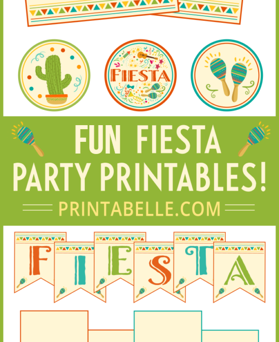 FIESTA Party Printable Set