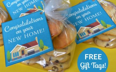 Free New Home Gift Tags