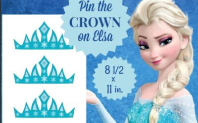 Pin the Crown on Elsa Game Just Added
