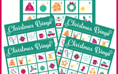 Printable Bingo Game for Christmas