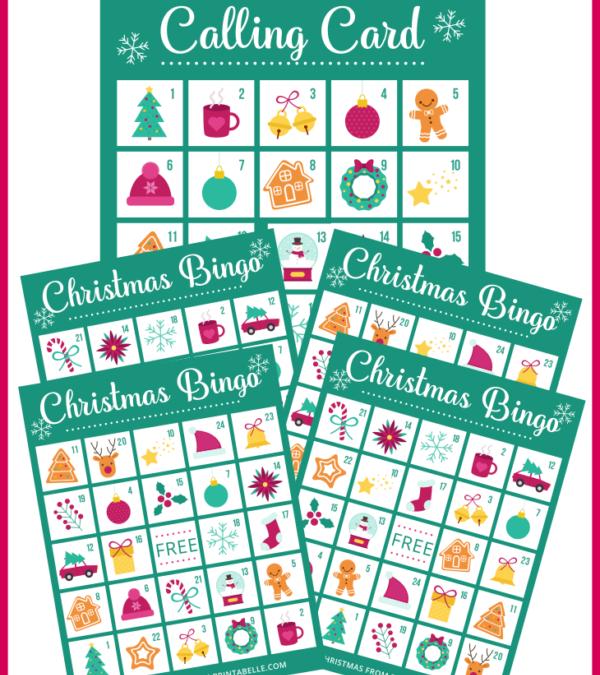 Printable Bingo Game for Christmas