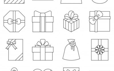 Free Christmas Presents Coloring Page