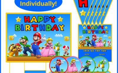 Mario Party Printables (Sold Individually!)