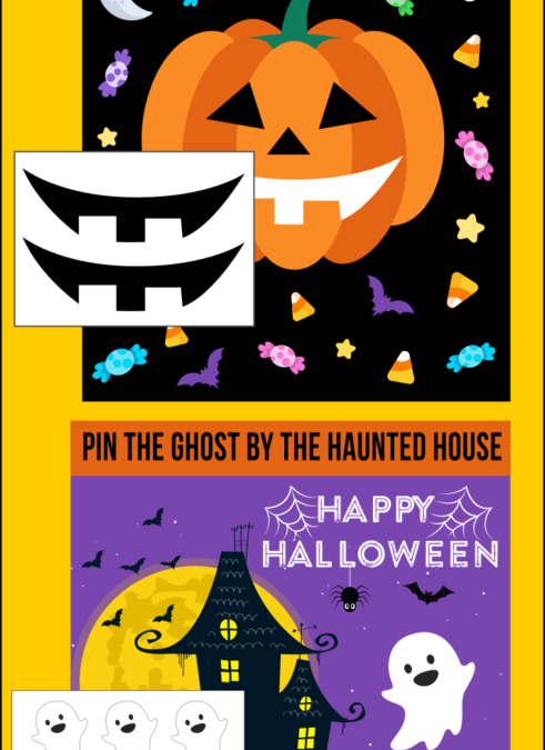 Two Halloween Party Games!