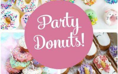 Party Donut Ideas!