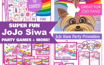 JoJo Siwa Party Games and Printables!
