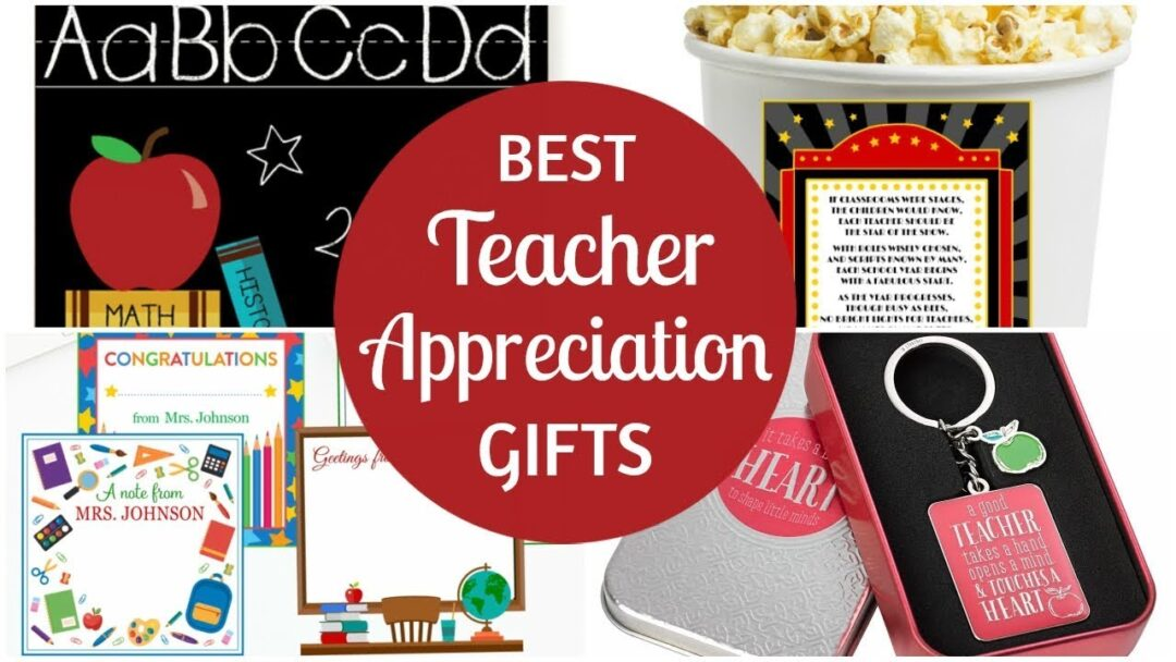 Best Teacher Appreciation Gifts!