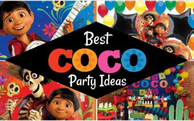 COCO Party Food Cards + Free Sign