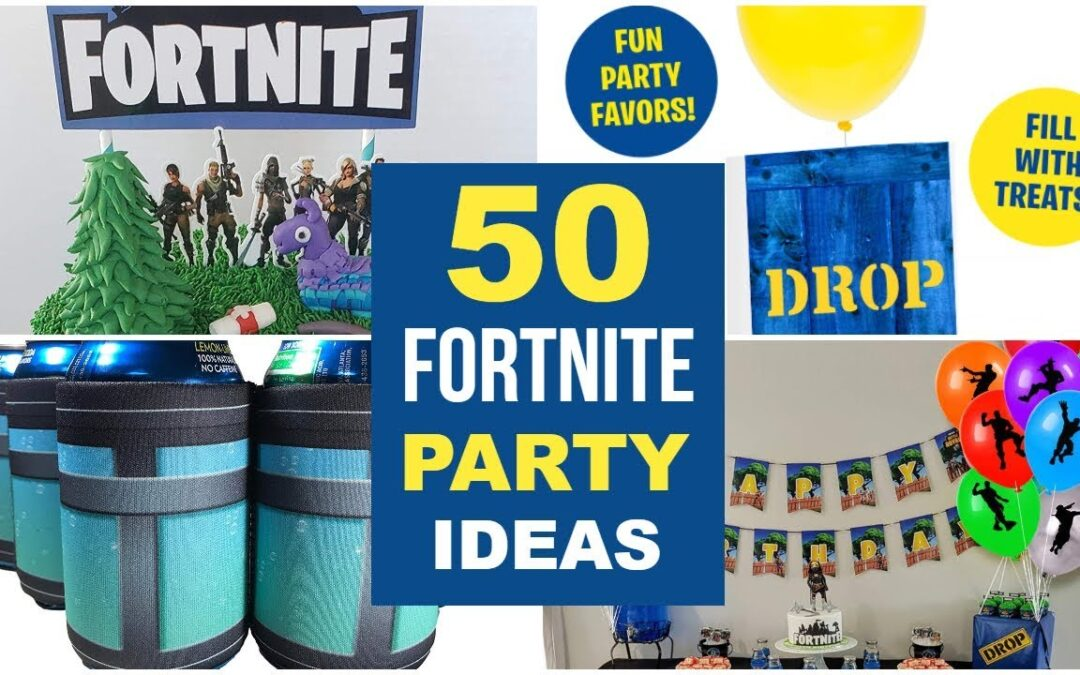 Fortnite Party Supplies & Ideas