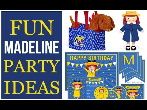 Fun Madeline Party Ideas and Supplies