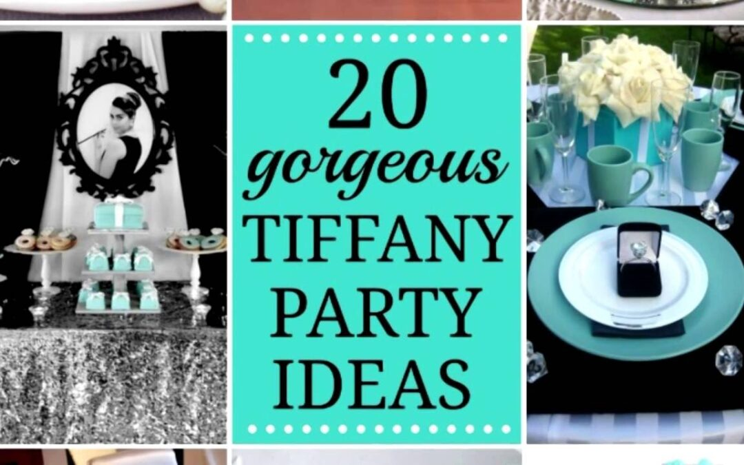Gorgeous Tiffany's Party Ideas