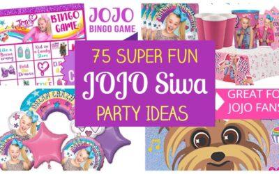 Super Fun JoJo Siwa Party Ideas – Supplies, Printables, Games!