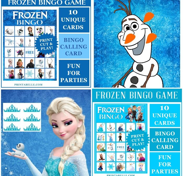 Frozen Themed Birthday Party Games