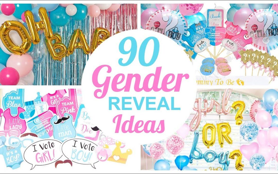 Best Gender Reveal Baby Shower Ideas