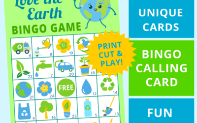 Earth Day Bingo and Party Decorations