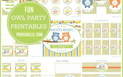 Owl Party Printables