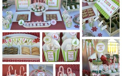 Gorgeous Cookies and Cocoa Party!