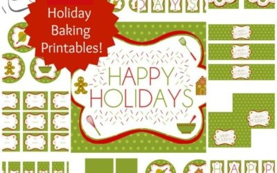 Christmas Baking Printables