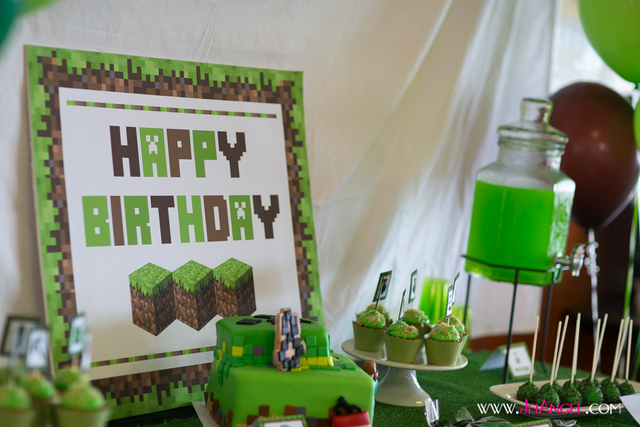 Minecraft Birthday Parties