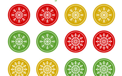 Free Printable Holiday Ornaments