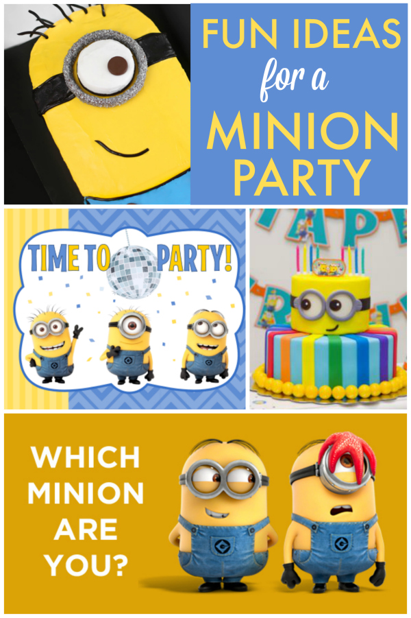 Fun Minion Party Ideas