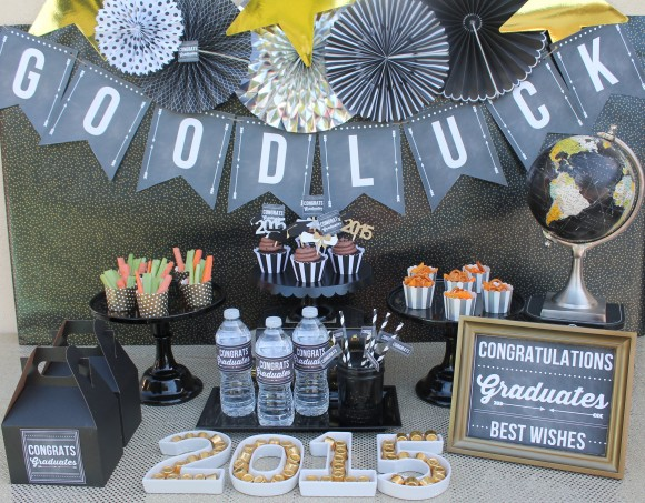 Graduation Printables – Chalkboard Style!