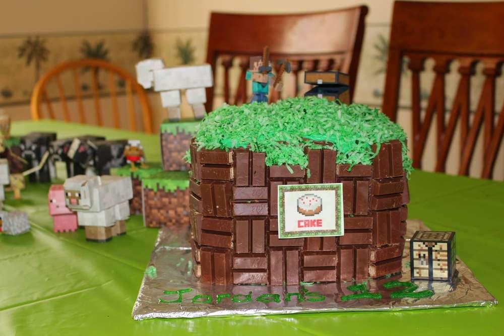 Jordan's Minecraft Party