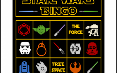 Star Wars Printable Bingo Game