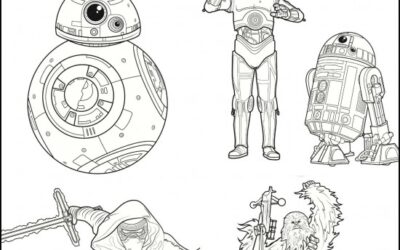 Free Star Wars Printable Coloring and Activity Pages