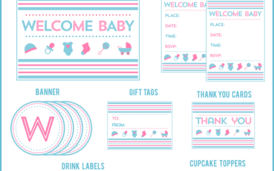 Baby Blanket Shower Printables