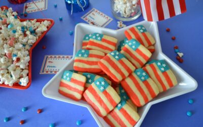 4th of July Flag Cookies