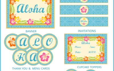 Luau Party Printables and more!