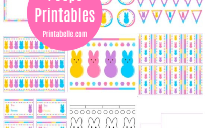 Peeps Party Printables for Easter